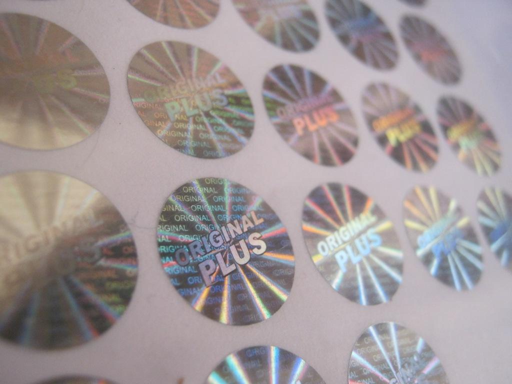 Stiker Hologram Ready Stok 1
