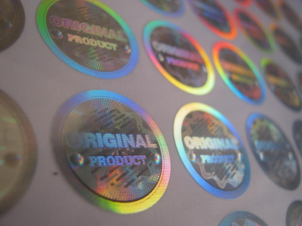 Stiker Hologram Ready Stok 2